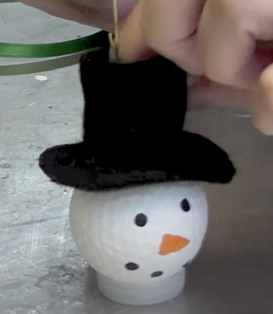 Glue on hat pieces