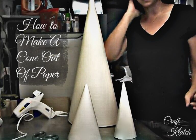 How to Make a Cone Out of Paper