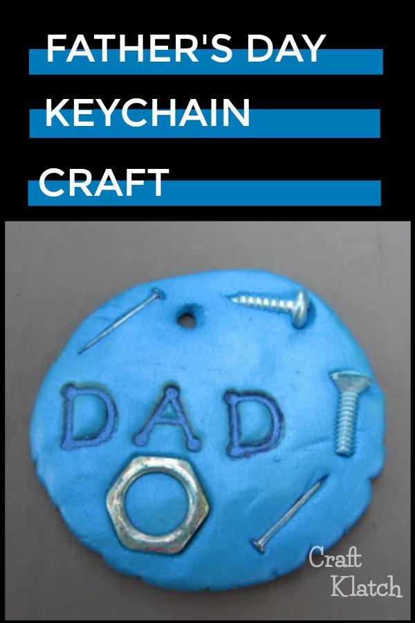 Dad Keychain DIY