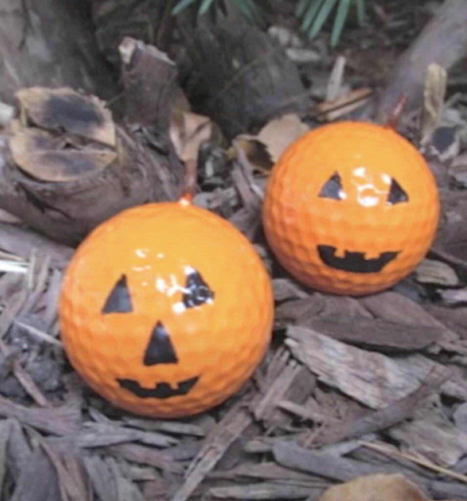 Fun pumpkins for halloween craft finished