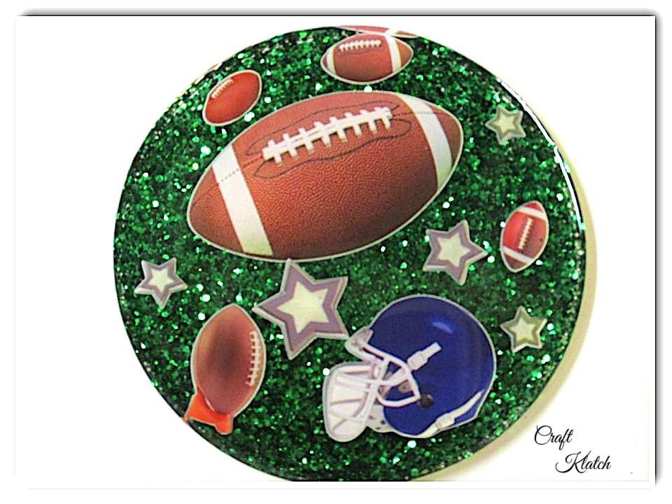 Football coaster diy