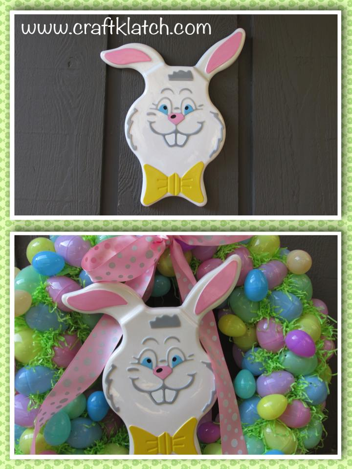 Resin Easter Bunny Decoration
