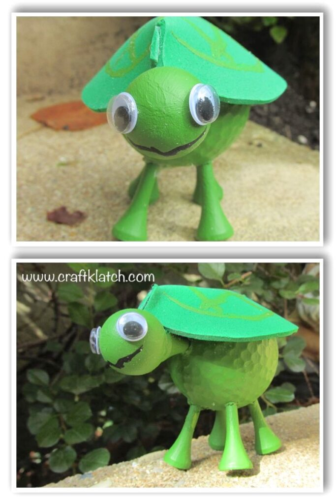 baby turtle face and side view