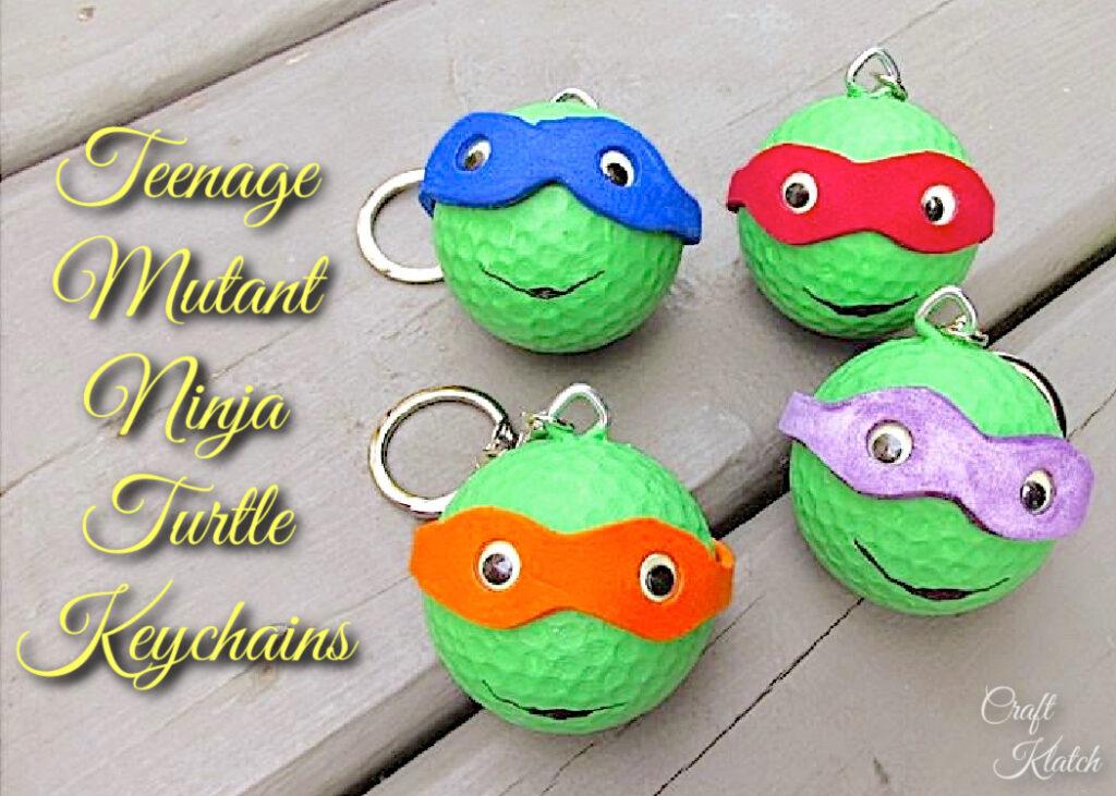 Teenage mutant ninja turtles keychains TMNT