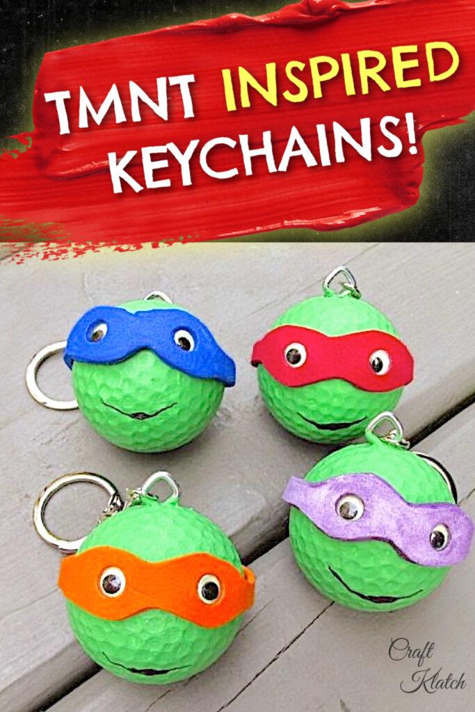 TMNT Teenage Mutant Ninja Turtles keychains