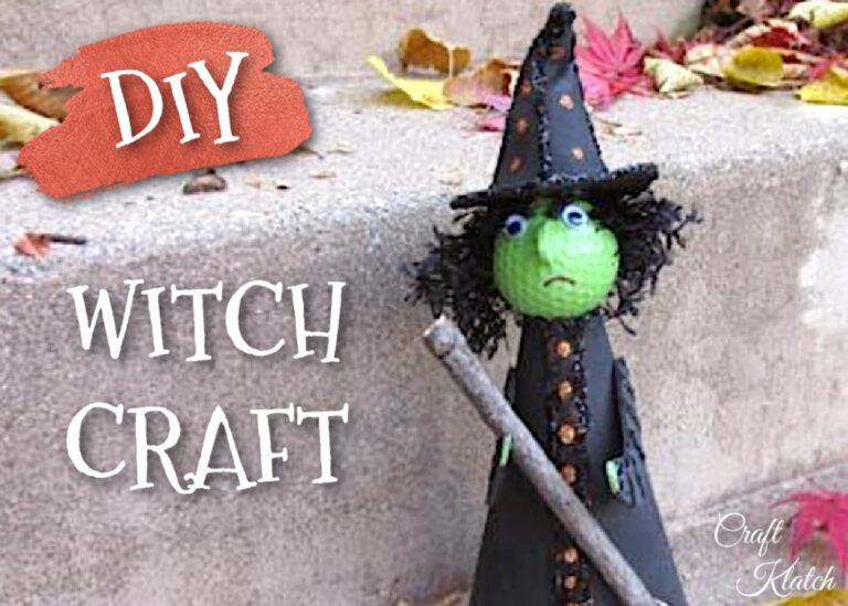 Witch craft golf ball witch