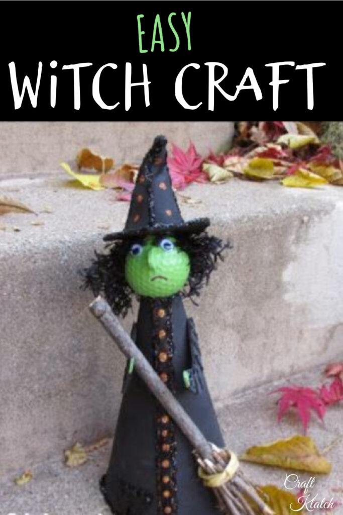Golf ball witch craft DIY