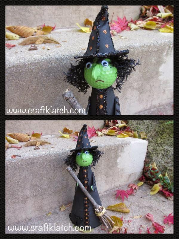 golf ball witch