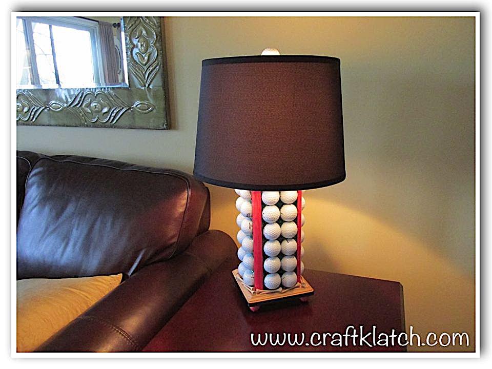 Best golf ball lamp craft
