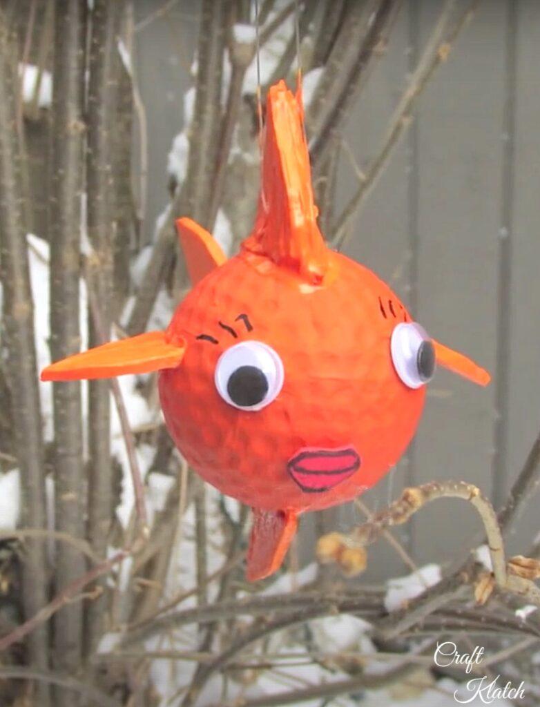 golf ball goldfish