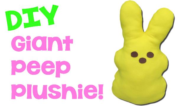 Peep Plushie DIY