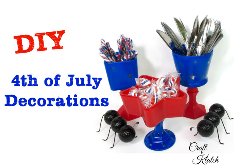 Fourth of July Table Decorations