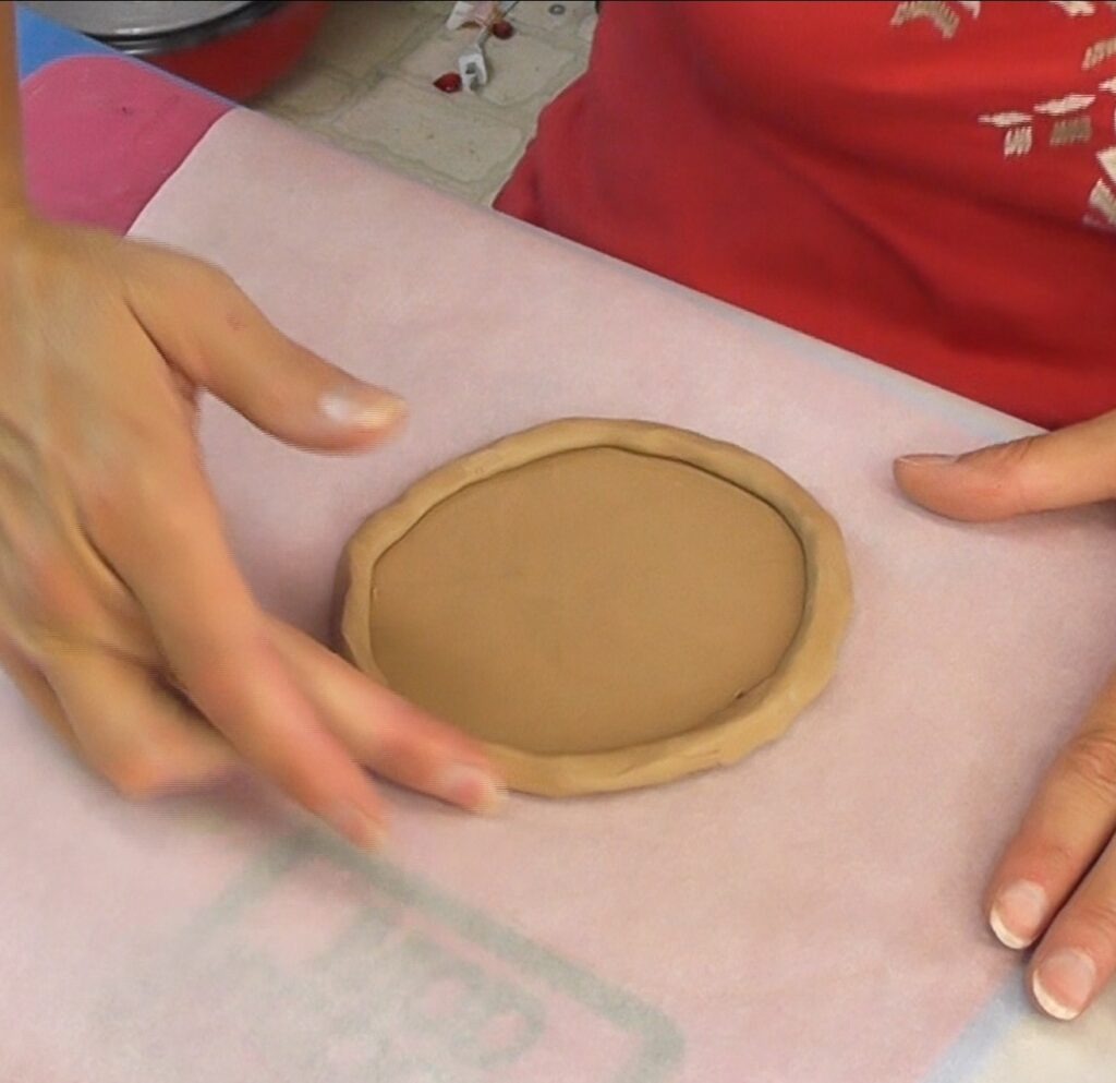 Use the excess to create a crust and smooth the outer seam