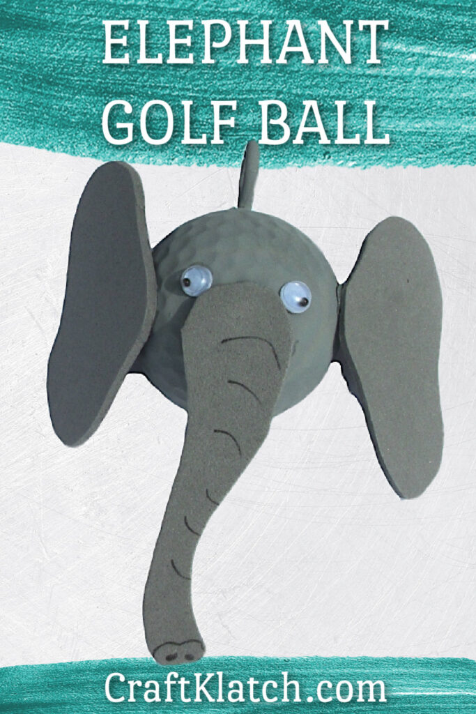 Elephant Golf Ball DIY