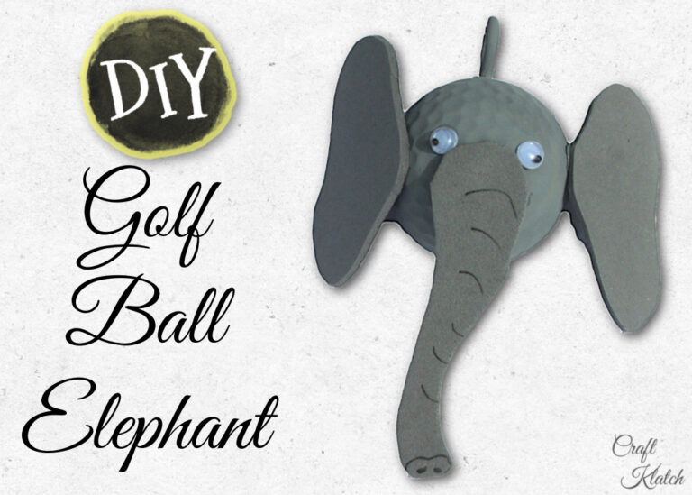 Golf Ball elephant