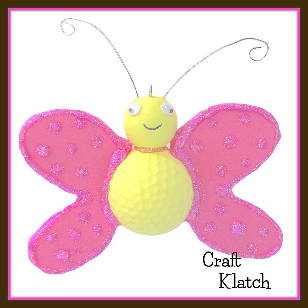 Cute butterfly craft