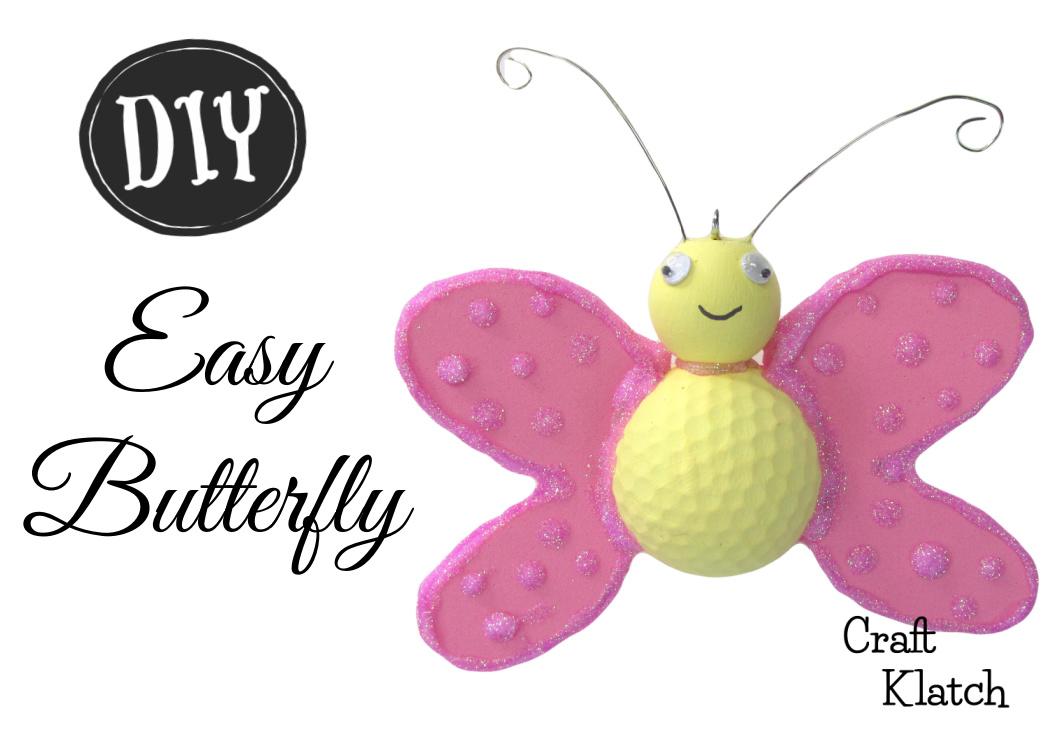 Easy butterfly golf ball