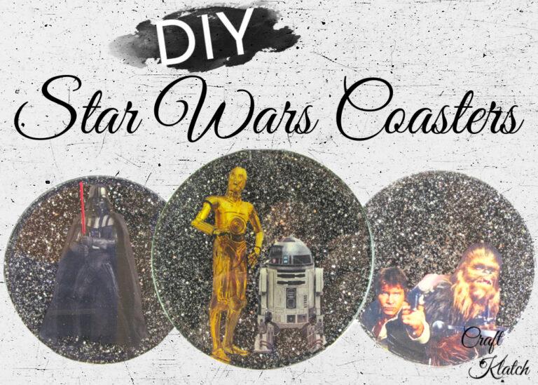 Star Wars Coasters DIY