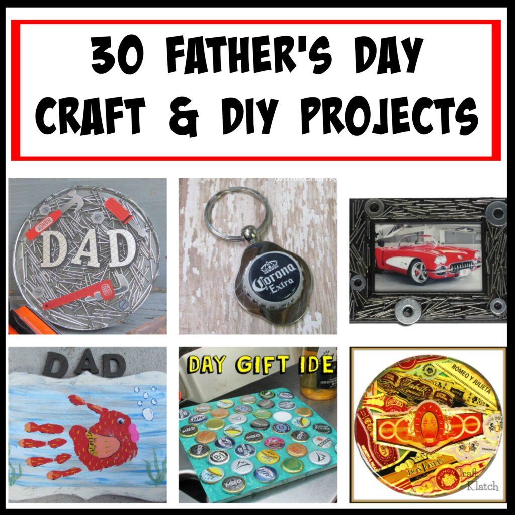 30 Easy Father's Day crafts and DIYs