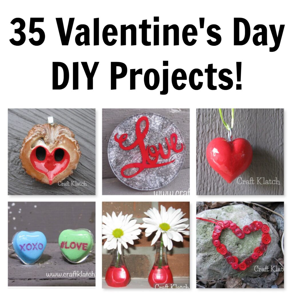 35 Valentine's Day Projects jpeg
