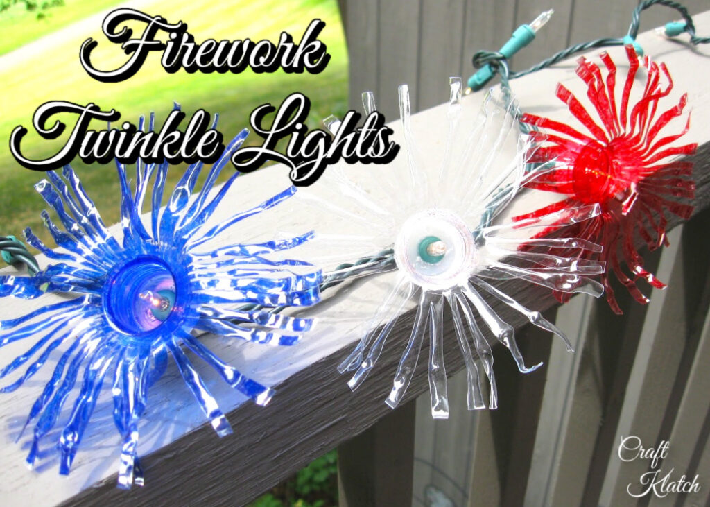 Firework Twinkle Lights DIY