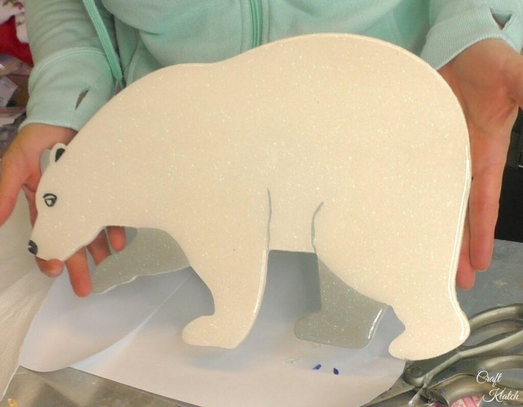 Finished Polar bear art