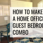 Home office guest bedroom 4 tips