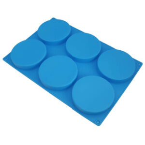 6 Cavity Silicone Coaster Mold