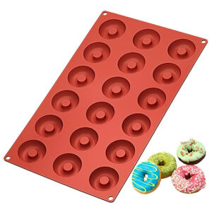 Silicone mini donut mold