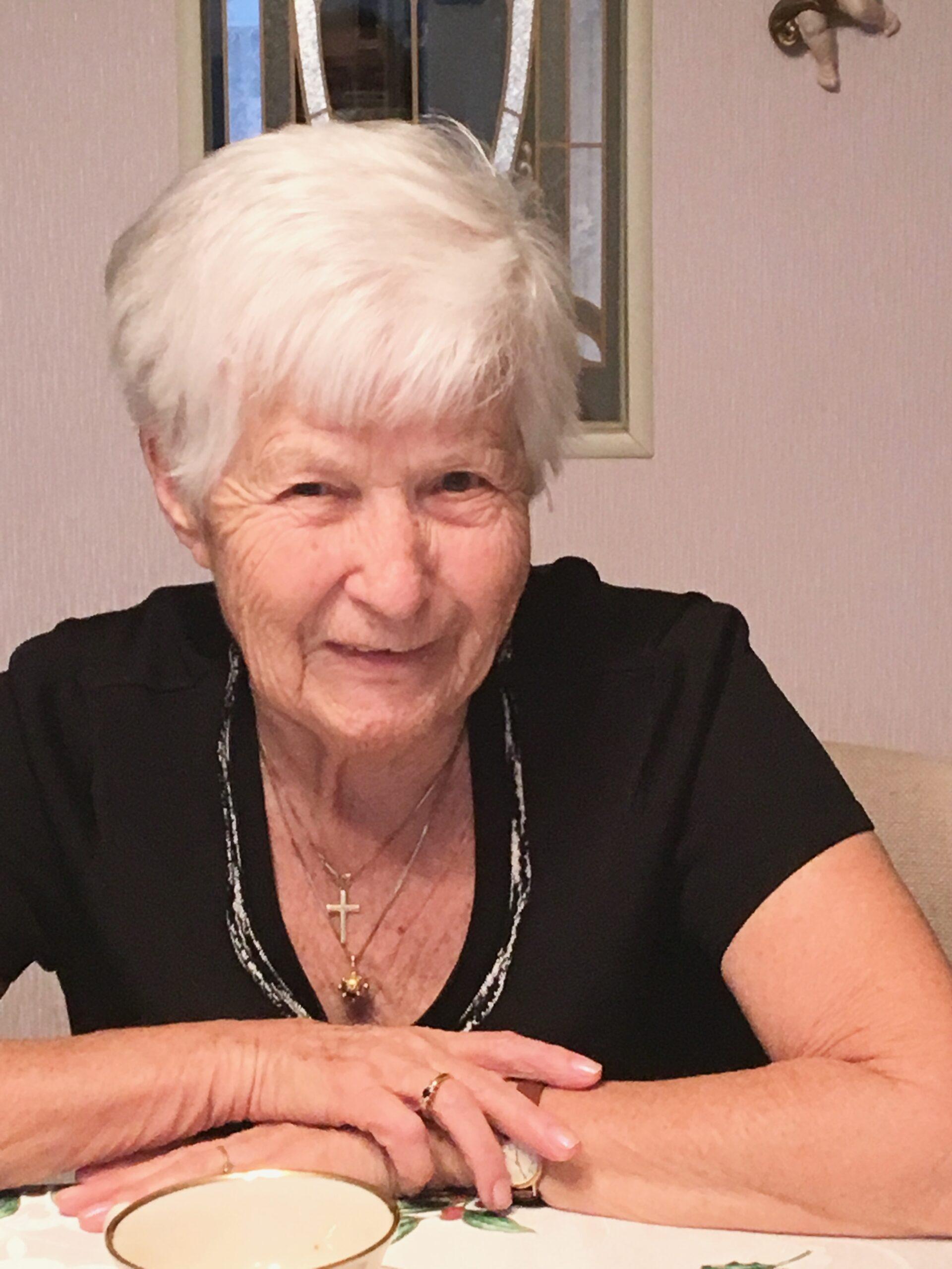 Aunt Rose smiling