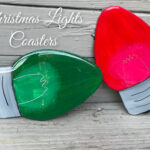 Christmas Lights Coasters